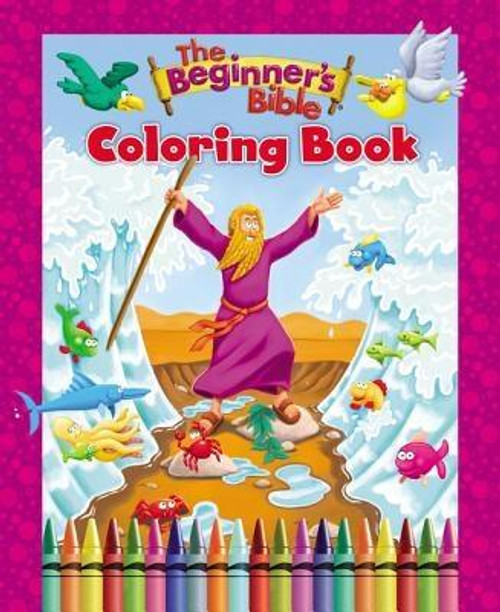<p><strong>Are your kids fans of <em>The Beginner's Bible</em>? If you answered yes, they'll love <em>The Beginner's Bible Coloring Book</em>. Children can now color to life more than 60 favorite Bible stories and characters from the Bible. </strong></p><p>With loads of coloring fun, this coloring book for kids is: </p><ul> <li>Entertaining for children in grades PreK-2nd</li> <li>Great for home, church, or school</li> <li>The perfect gift for Easter, birthdays, or gift-giving holidays</li> <li>Filled with beautiful art that encourages creativity and memorization of the classic Bible stories, and can be displayed</li> </ul><p><em>The Beginner's Bible</em>(R) has been a favorite with young children and their parents since its release in 1989 with over 25 million products sold.</p><br><br><b>Author:</b> Zondervan<br><b>Publisher:</b> Zonderkidz<br><b>Published:</b> 03/07/2017<br><b>Pages:</b> 64<br><b>Binding Type:</b> Paperback<br><b>Weight:</b> 0.50lbs<br><b>Size:</b> 10.60h x 8.50w x 0.20d<br><b>ISBN:</b> 9780310759553