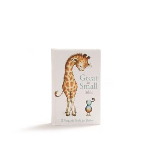 <i>All creatures great and small . . . the Lord God made them all </i><p>This full-text Bible, complemented by delightful illustrations of great-and-small animal friends, makes the perfect gift to welcome babies. Two dozen full-color inserts offer plenty of space to record all of baby's special moments--from first measurements to first steps--creating a keepsake to always cherish.</p>Features include: <ul> <li>Complete text of the CSB (Christian Standard Bible)</li> <li>24 pages of inserts with full-color illustrations</li> <li>Easy-to-read type</li> <li>Words of Christ in red</li> <li>Presentation page</li> <li>Gift box</li> </ul>Part of what makes the <i>Great and Small Bible</i> so special is the readable, faithful-to-the-original text of the Christian Standard Bible. The CSB's optimal blend of accuracy and readability makes it a trustworthy, easy-to-understand resource for kids to study and memorize today--and to live and share for a lifetime.<br><br><b>Author:</b> Csb Bibles by Holman<br><b>Publisher:</b> B&amp;H Publishing Group<br><b>Published:</b> 02/15/2018<br><b>Pages:</b> 1184<br><b>Binding Type:</b> Hardcover<br><b>Weight:</b> 1.36lbs<br><b>Size:</b> 7.40h x 5.20w x 1.30d<br><b>ISBN:</b> 9781462777662