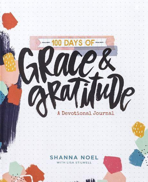 """<span data-mce-fragment=""""1"""">In her devotional journal, 100 Days of Grace &amp; Gratitude, author Shanna Noel invites you to remember God's many promises - and His goodness and grace. For 100 days, you'll find a place for prayers, reflection, and creative expression, that will leave you gratefully reminded of just how loved you are.</span><br data-mce-fragment=""""1""""><br data-mce-fragment=""""1""""><span data-mce-fragment=""""1"""">Cover:</span><br data-mce-fragment=""""1""""><span data-mce-fragment=""""1"""">100 Days of Grace &amp; Gratitude</span><br data-mce-fragment=""""1""""><span data-mce-fragment=""""1"""">A Devotional Journal</span><br data-mce-fragment=""""1""""><span data-mce-fragment=""""1"""">Shanna Noel</span><br data-mce-fragment=""""1""""><br data-mce-fragment=""""1""""><span data-mce-fragment=""""1"""">Product Details:</span><br data-mce-fragment=""""1""""><br data-mce-fragment=""""1""""><span data-mce-fragment=""""1"""">Shanna Noel devotional journal</span><br data-mce-fragment=""""1""""><span data-mce-fragment=""""1"""">Journal cover features soft touch flexible latex board and spot UV</span><br data-mce-fragment=""""1""""><span data-mce-fragment=""""1"""">Notebook binding</span><br data-mce-fragment=""""1""""><span data-mce-fragment=""""1"""">Ribbon marker</span><br data-mce-fragment=""""1""""><span data-mce-fragment=""""1"""">Pages: 208</span><br data-mce-fragment=""""1""""><span data-mce-fragment=""""1"""">Size: 6 3/4"""" x 8 1/4""""</span>"""