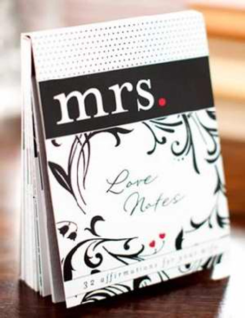 """<p><span style=""""font-weight: 400;"""">Husbands, here are 32 ready-to-share messages of joy, love, and affirmation for your wife! Just choose the perfect page, remove it, and leave it somewhere to be discovered. Add a message to the designed back of each note for a personal touch.</span></p> <p></p> <ul> <li style=""""font-weight: 400;""""><span style=""""font-weight: 400;"""">Quality card stock</span></li> <li style=""""font-weight: 400;""""><span style=""""font-weight: 400;"""">3.75"""" x 5""""</span></li> </ul> <ul></ul>"""