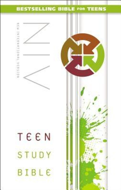 """<p>The bestselling <em>NIV Teen Study Bible</em> has an all-new updated design to appeal to the next generation of teens. Packed full of study features that help today's students learn more about God, the Bible, and how God's Word relates to their lives, this Bible includes the following features: </p><ul> <li>""""We Believe"""" unpacks the Apostles' Creed to reveal the biblical foundation of faith</li> <li>Topical indexes help with in-depth Bible study</li> <li>Book introductions provide an overview for each book of the Bible</li> <li>Bible promises highlight Bible verses worth remembering</li> <li>Q &amp; As test Bible knowledge</li> <li>4 color pages include a presentation page and information about the Apostles' Creed</li> <li>8-page full-color map section</li> <li>Biblical advice about friends, family, school, and other issues</li> <li>Complete text of the bestselling New International Version (NIV) of the Bible</li> </ul><p>With over 3.5 million copies sold, the <em>NIV Teen Study Bible</em> continues to be a teen's top resource for discovering the foundational truths of the Bible.</p><br><br><b>Bible Version:</b> New International<br><b>Author:</b> Lawrence O. Richards, Zondervan<br><b>Publisher:</b> Zondervan<br><b>Published:</b> 06/24/2014<br><b>Pages:</b> 1614<br><b>Weight:</b> 2.38lbs<br><b>Size:</b> 8.60h x 5.60w x 1.80d<br><b>ISBN:</b> 9780310745501<br><b>Binding Material:</b> Cloth<br><b>Bible Portion:</b> Complete Without Apocrypha"""