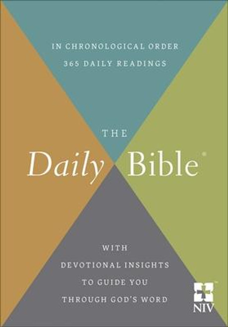 NIV The Daily Bible In Chronological Order-Hardcover