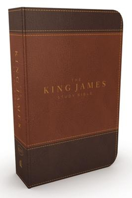<p>Standing apart from all other KJV study Bibles on the market, <strong><em>the King James Study Bible, Full Color Edition</em></strong> is the only Bible featuring extensive commentary, doctrinal notes, archaeological insights, and time-tested study aids developed exclusively for the King James Version. Now available with stunning full-color designs, Holy Land images, classic works of art, charts, and maps, <em>the King James Study Bible, Full Color Edition</em> guides you through the vivid beauty and authority of God's Word as you grow in your biblical knowledge.</p><p>For over a quarter of a century, Thomas Nelson has earned the trust of millions with the best-selling King James Study Bible, offering the standard of conservative KJV scholarship. Our tradition and commitment to KJV study continues with the release of <em>the King James Study Bible, Full Color Edition</em>.</p><p><strong>Features include: </strong></p><ul> <li>Beautiful full-color throughout</li> <li>Easy-to-read 10-pt type large print</li> <li>5,700 authoritative and study notes</li> <li>Center-column references with translation notes</li> <li>Hundreds of color maps and charts</li> <li>Over 100 archaeological notes</li> <li>Over 100 personality profiles</li> <li>Over 200 notes on Christian doctrines</li> <li>Easy-to-navigate topical indexes</li> <li>Book introductions and outlines</li> <li>Word-study concordance</li> <li>Time-honored KJV Bible text</li> </ul><br><br><b>Author:</b> Thomas Nelson<br><b>Publisher:</b> Thomas Nelson<br><b>Published:</b> 08/08/2017<br><b>Pages:</b> 2368<br><b>Binding Type:</b> Imitation Leather<br><b>Weight:</b> 4.20lbs<br><b>Size:</b> 9.90h x 7.30w x 2.30d<br><b>ISBN:</b> 9780718079826<br><b>Large Print</b>