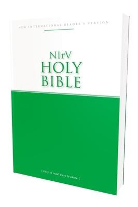 <p>The New International Reader's Version (NIrV) of the Bible is based on the bestselling New International Version (NIV) but is written at a third-grade reading level, making this translation ideal for those just learning to read or learning English as a second language. This low-cost NIrV Bible with extra helps is perfect for churches and ministries looking to distribute God's Word through their outreach events.</p> <p>Features include: </p> <ul> <li>Complete text of the New International Reader's Version</li> <li>NIrV section headings</li> <li>Translator footnotes</li> <li>Plan of salvation</li> <li>Table of weights and measures</li> </ul> <p> </p> 6.7-point type size<br><br><b>Author:</b> Zondervan<br><b>Publisher:</b> Zondervan<br><b>Published:</b> 11/22/2016<br><b>Pages:</b> 656<br><b>Binding Type:</b> Paperback<br><b>Weight:</b> 0.80lbs<br><b>Size:</b> 8.30h x 5.50w x 1.10d<br><b>ISBN:</b> 9780310445906
