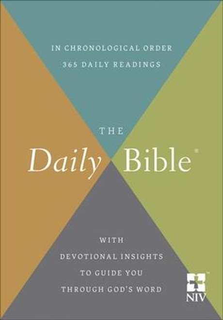 NIV The Daily Bible In Chronological Order-Softcover