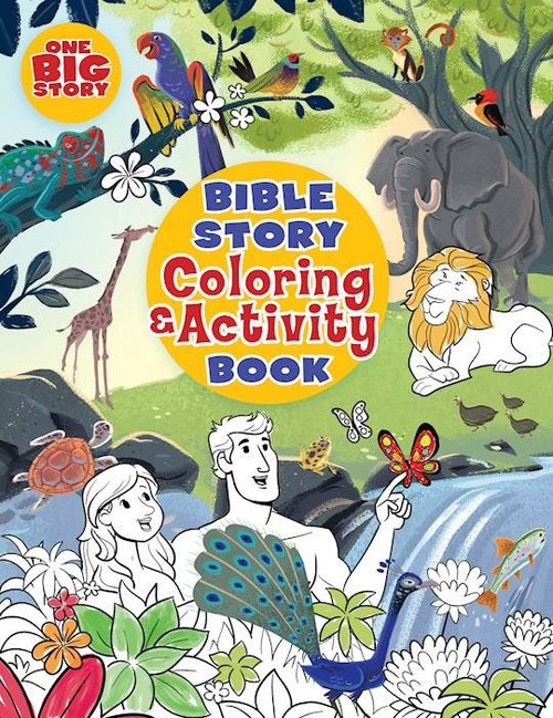 """<span data-mce-fragment=""""1"""">Filled with more than 200 coloring pages and more than 150 activity pages for young children, this</span><i data-mce-fragment=""""1"""">Bible Story Coloring and Activity Book</i><span data-mce-fragment=""""1"""">from The Big Picture Interactive provides hours of fun. Here are some of the great activities your kids will love:</span> <ul data-mce-fragment=""""1""""> <li data-mce-fragment=""""1"""">Word searches</li> <li data-mce-fragment=""""1"""">Mazes</li> <li data-mce-fragment=""""1"""">Connect the dots</li> <li data-mce-fragment=""""1"""">Hidden messages</li> <li data-mce-fragment=""""1"""">Fill in the blank</li> <li data-mce-fragment=""""1"""">Secret code</li> <li data-mce-fragment=""""1"""">Matching</li> <li data-mce-fragment=""""1"""">Find it</li> <li data-mce-fragment=""""1"""">Unscramble</li> <li data-mce-fragment=""""1"""">and more!</li> <li data-mce-fragment=""""1""""><span>0.8"""" H x 11.0"""" L x 8.55"""" W (1.65 lbs) </span></li> <li data-mce-fragment=""""1""""><span>384 pages</span></li> <li data-mce-fragment=""""1""""><span>Target Age: 4-8</span></li> </ul>"""
