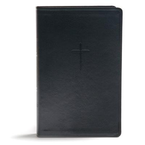 """The <i>CSB Everyday Study Bible</i> is an accessible and easy-to-carry study Bible featuring concise study notes crafted from the award-winning Holman Study Bible, as well as features and foundational study helps to help Christians grow in their faith. The convenient Bible size can be easily carried in a backpack, large purse, or brief case to equip readers with a """"go-anywhere"""" study Bible that will foster everyday engagement and practical application of God's Word.<br><br> Features include: Presentation page, Book Introductions, Concise study notes, Articles from leading Bible scholars, 99 """"Essential Truths"""" of the Christian faith, 30 Bible character profiles, 21 charts and illustrations, Two-column text, 9.5-point type size, Smyth-sewn binding, Ribbon marker, Concordance, and Full-color maps. <br><br> The <i>CSB Everyday Study Bible</i> features the highly readable, highly reliable text of the Christian Standard Bible(R) (CSB). The CSB stays as literal as possible to the Bible's original meaning without sacrificing clarity, making it easier to engage with Scripture's life-transforming message and to share it with others.<br><br><b>Author:</b> Csb Bibles by Holman<br><b>Publisher:</b> Holman Bibles<br><b>Published:</b> 09/01/2018<br><b>Pages:</b> 1920<br><b>Binding Type:</b> Imitation Leather<br><b>Weight:</b> 2.46lbs<br><b>Size:</b> 9.80h x 6.90w x 1.70d<br><b>ISBN:</b> 9781462796953"""