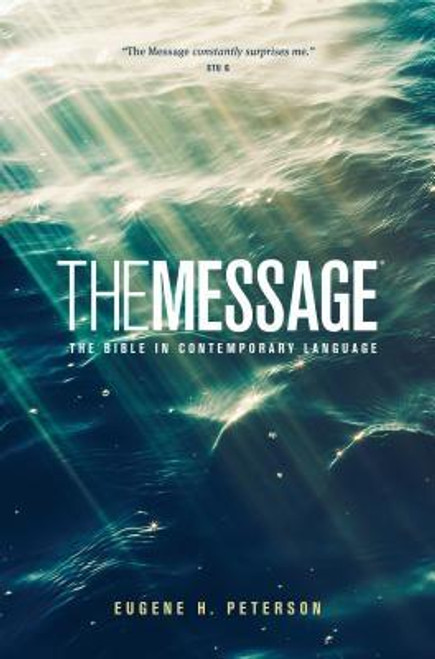 """Increase your ministry's impact with <i>The Message Ministry Edition</i>. At this great low price, churches and ministries can give it away to guests, small groups, and Sunday school classes.<br><br>New Bible readers will relate to <i>The Message</i>'s thoughtful language. Lifelong believers will be surprised by its deep insights. Offer everyone a Bible they'll enjoy reading.<br><br>They can dive even deeper using these great features . . .<ul> <li>Book Introductions help them spot each book's big ideas.</li> <li>""""The Story of the Bible in Five Acts"""" helps them see the Bible's big picture.</li> <li>Timelines, charts, and maps help them navigate the Bible world.</li> <li> <i>The Message</i>'s unique, verse-numbered paragraphs help them find any passage.</li> <li>""""Becoming a Christian"""" guide</li> <li>Bible reading plan</li> </ul><br><br><b>Author:</b> Eugene H. Peterson<br><b>Publisher:</b> NavPress Publishing Group<br><b>Published:</b> 10/04/2016<br><b>Pages:</b> 906<br><b>Binding Type:</b> Paperback<br><b>Weight:</b> 0.90lbs<br><b>Size:</b> 8.50h x 5.30w x 1.10d<br><b>ISBN:</b> 9781600065941"""