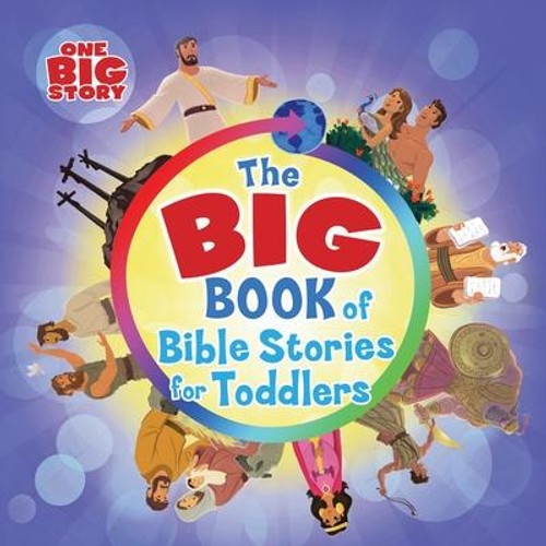 <i><b>Favorite Bible stories for your favorite toddlers  </b></i><p>Noah and the ark, Jonah and the big fish, David and the giant--little readers know which Bible stories are their favorites. The <i>Big Book of Bible Stories for Toddlers </i>is an interactive and engaging new Bible storybook designed just for toddlers. With stories from both the Old and New Testaments, this big book means big fun and learning for little ones. </p><p></p><i>Go to bhkids.com to find </i><i>this book's Parent Connection, an easy tool to help moms and dads (or anyone else who loves kids) discuss the book's message with their child. We're all about connecting parents and kids to each other and to God's Word.</i><br><br><b>Author:</b> B&amp;h Kids Editorial<br><b>Publisher:</b> B&amp;H Publishing Group<br><b>Published:</b> 02/01/2018<br><b>Pages:</b> 38<br><b>Binding Type:</b> Board Books<br><b>Weight:</b> 1.60lbs<br><b>Size:</b> 8.00h x 8.20w x 1.00d<br><b>ISBN:</b> 9781462774067