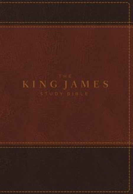<p>Standing apart from all other KJV study Bibles on the market, <strong><em>the King James Study Bible, Full Color Edition</em></strong> is the only Bible featuring extensive commentary, doctrinal notes, archaeological insights, and time-tested study aids developed exclusively for the King James Version. Now available with stunning full-color designs, Holy Land images, classic works of art, charts, and maps, <em>the King James Study Bible, Full Color Edition</em> guides you through the vivid beauty and authority of God's Word as you grow in your biblical knowledge.</p><p>For over a quarter of a century, Thomas Nelson has earned the trust of millions with the best-selling King James Study Bible, offering the standard of conservative KJV scholarship. Our tradition and commitment to KJV study continues with the release of <em>the King James Study Bible, Full Color Edition</em>.</p><p><strong>Features include: </strong></p><ul> <li>Beautiful full-color throughout</li> <li>Easy-to-read 10-pt type large print</li> <li> </li> <li>5,700 authoritative and study notes</li> <li>Center-column references with translation notes</li> <li>Hundreds of color maps and charts</li> <li>Over 100 archaeological notes</li> <li>Over 100 personality profiles</li> <li>Over 200 notes on Christian doctrines</li> <li>Easy-to-navigate topical indexes</li> <li>Book introductions and outlines</li> <li>Word-study concordance</li> <li>Time-honored KJV Bible text</li> </ul><br><br><b>Author:</b> Thomas Nelson<br><b>Publisher:</b> Thomas Nelson<br><b>Published:</b> 08/08/2017<br><b>Pages:</b> 2368<br><b>Binding Type:</b> Imitation Leather<br><b>Weight:</b> 4.30lbs<br><b>Size:</b> 10.00h x 7.40w x 2.50d<br><b>ISBN:</b> 9780718079918<br><b>Large Print</b>