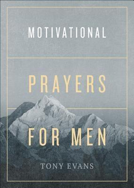 """<p><b>Become Empowered Through Prayer</b> </p><p></p> Do you know God wants to hear from you? And there is nothing more powerful than prayer to help you grow closer to Him. <p></p> In <i>Motivational Prayers for Men</i>, Dr. Tony Evans equips you to approach God with confidence and assurance. Whether you are seeking direction, pursuing wisdom, or searching for peace, Scripture says, """"Nothing is impossible with God"""" (Luke 1:37). Here, Dr. Evans offers more than 60 topical prayers and motivational thoughts for every area of your life. You'll grow as you make it a habit to talk to God about your...<ul> <li>health</li> <li>financial wisdom</li> <li>relationships</li> <li>purpose</li> <li>trials</li> <li>protection</li> </ul><p>Find hope, renew your strength, increase your faith, and allow God to build you up in prayer.</p><br><br><b>Author:</b> Tony Evans<br><b>Publisher:</b> Harvest House Publishers<br><b>Published:</b> 04/02/2019<br><b>Pages:</b> 160<br><b>Binding Type:</b> Paperback<br><b>Weight:</b> 0.30lbs<br><b>Size:</b> 6.90h x 5.00w x 0.60d<br><b>ISBN:</b> 9780736978521"""