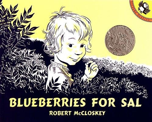 <b>What happens when Sal and her mother meet a mother bear and her cub? A Caldecott Honor Book </b> <p></p> <i>Kuplink, kuplank, kuplunk </i> Sal and her mother a picking blueberries to can for the winter. But when Sal wanders to the other side of Blueberry Hill, she discovers a mama bear preparing for her own long winter. Meanwhile Sal's mother is being followed by a small bear with a big appetite for berries Will each mother go home with the right little one? <p></p> With its expressive line drawings and charming story, <i>Blueberries for Sal</i> has won readers' hearts since its first publication in 1948. <p></p> The adventures of a little girl and a baby bear while hunting for blueberries with their mothers one bright summer day. All the color and flavor of the sea and pine-covered Maine countryside.--<b><i>School Library Journal</i>, starred review.</b><br><br><b>Author:</b> Robert McCloskey<br><b>Publisher:</b> Puffin Books<br><b>Published:</b> 09/30/1976<br><b>Pages:</b> 64<br><b>Binding Type:</b> Paperback<br><b>Weight:</b> 0.40lbs<br><b>Size:</b> 7.00h x 8.70w x 0.40d<br><b>ISBN:</b> 9780140501698<br><b>Award:</b> Caldecott Medal - Honor Book