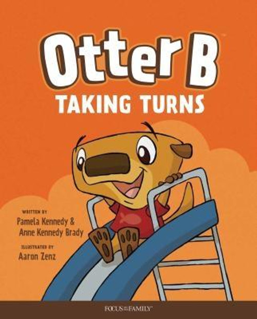"""<i>Otter B Taking Turns</i> is the fifth in a series of six children's books that are intended to teach young children basic biblical character traits. In this book, Otter learns to take turns with his friends at the playground.<br><br>Each book includes an appropriate Bible verse, and <i>Otter B Taking Turns</i> ends with this rhyme about the lesson: <br><br>""""When it's time to play with friends, whether one, or two, or three, <br> show God's love by taking turns.<br> It's how you Otter Be """"<br><br><b>Author:</b> Pamela Kennedy, Anne Kennedy Brady<br><b>Publisher:</b> Focus on the Family Publishing<br><b>Published:</b> 10/08/2019<br><b>Pages:</b> 24<br><b>Binding Type:</b> Hardcover<br><b>Weight:</b> 0.65lbs<br><b>Size:</b> 10.00h x 8.10w x 0.30d<br><b>ISBN:</b> 9781589973978"""