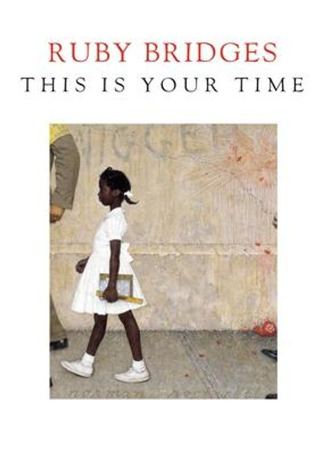 """<b><i>NEW YORK TIMES</i> BESTSELLER - Civil rights icon Ruby Bridges--who, at the age of six, was the first black child to integrate into an all-white elementary school in New Orleans--inspires readers and calls for action in this moving letter. Her elegant, memorable gift book is especially uplifting in the wake of Kamala Harris making US history as the first female, first Black, and first South Asian vice president-elect.</b> <p></p> Written as a letter from civil rights activist and icon Ruby Bridges to the reader, <i>This Is Your Time</i> is both a recounting of Ruby's experience as a child who had to be escorted to class by federal marshals when she was chosen to be one of the first black students to integrate into New Orleans' all-white public school system and an appeal to generations to come to effect change. <p></p> This beautifully designed volume features photographs from the 1960s and from today, as well as stunning jacket art from <i>The Problem We All Live With, </i> the 1964 painting by Norman Rockwell depicting Ruby's walk to school. <p></p> Ruby's honest and impassioned words, imbued with love and grace, serve as a moving reminder that """"what can inspire tomorrow often lies in our past."""" <i>This Is Your Time</i> will electrify people of all ages as the struggle for liberty and justice for all continues and the powerful legacy of Ruby Bridges endures.<br><br><b>Author:</b> Ruby Bridges<br><b>Publisher:</b> Delacorte Press<br><b>Published:</b> 11/10/2020<br><b>Pages:</b> 64<br><b>Binding Type:</b> Hardcover<br><b>Weight:</b> 0.35lbs<br><b>Size:</b> 7.10h x 5.30w x 0.60d<br><b>ISBN:</b> 9780593378526"""