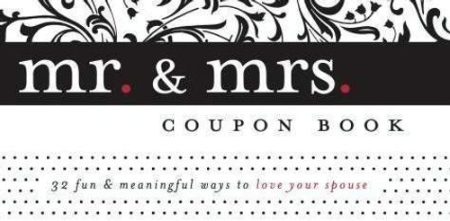 """<p><span style=""""font-weight: 400;"""">Express love and appreciation for your spouse in awesome and unique ways by doing the fun and meaningful activities offered on each coupon in this Mr. &amp; Mrs. coupon book! Keep the book in a location where each of you can tear out an appropriate coupon for one another from time to time...and enjoy the blessing of God's love on your marriage. This coupon book is a great wedding/anniversary gift. </span></p> <ul> <li style=""""font-weight: 400;""""><span style=""""font-weight: 400;"""">Printed on heavy card stock</span></li> <li style=""""font-weight: 400;""""><span style=""""font-weight: 400;"""">32 Coupons</span></li> <li style=""""font-weight: 400;""""><span style=""""font-weight: 400;"""">One Scripture printed on the back of each coupon </span></li> <li style=""""font-weight: 400;""""><span style=""""font-weight: 400;"""">Booklet size: 7"""" x 3 1/4""""</span></li> </ul> <ul></ul>"""