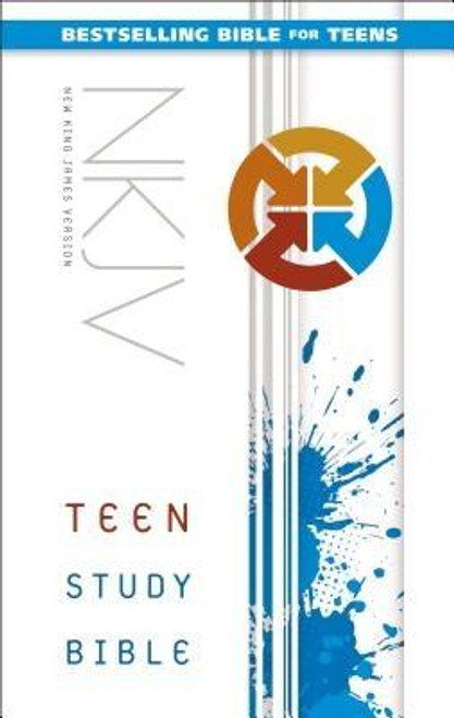 <p>As an on-the-go teen, you're moving fast. God is moving faster The New King James Version Teen Study Bible will help you keep in step with all he has done, is doing, and will do in the world and in your life. This Bible will help you discover the eternal truths of God's Word and apply them to the issues you face today.</p><p>Features include: </p><ul> <li>We Believe: Unpacks the Apostles Creed to reveal the biblical foundation of faith</li> <li>Panorama: Keeps the big picture of each book of the Bible in view</li> <li>Key Indexes: Help with in-depth Bible study</li> <li>To the Point: Reveals what the Bible says about pressing issues</li> <li>Dear Jordan: Offers biblical advice for teens</li> <li>Instant Access: Tells what God says to you personally</li> <li>Q&amp;A: Tests your knowledge of Bible trivia</li> <li>Bible Promises: Highlights Bible verses worth remembering</li> <li>Book Introductions: Provides an overview for each book of the Bible</li> <li>Complete New King James Version (NKJV) Bible Text</li> </ul><br><br><b>Author:</b> Lawrence O. Richards, Zondervan<br><b>Publisher:</b> Zondervan<br><b>Published:</b> 05/17/2016<br><b>Pages:</b> 1632<br><b>Binding Type:</b> Hardcover<br><b>Weight:</b> 2.40lbs<br><b>Size:</b> 8.70h x 5.60w x 1.80d<br><b>ISBN:</b> 9780310752752