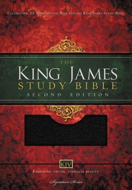 <p><strong>The best selling study Bible in the King James Version</strong>--<strong>now updated, with added features. </strong>Trusted for 25 years, <em>The King James Study Bible </em>has dependable notes and annotations from scholars you can rely on, led by General Editor Edward Hindson. A clear presentation of conservative Bible doctrine, with the resources you need for knowing God's Word.</p><p><strong>Features include: </strong></p><p> </p><ul> <li> <strong>NEW</strong> Fresh new page design for enjoyable reading of the Authorized King James text</li> <li>More than 5,700 authoritative and time-tested study notes offer straightforward communication and clear understanding</li> <li> <strong>NEW</strong> 48 revised in-text maps and charts - modernized and redrawn for stress-free reference</li> <li> <strong>NEW</strong> Enhanced concordance with added Hebrew and Greek word studies gives deeper insight</li> <li> <strong>NEW</strong> Index of Christ and the Gospels</li> <li> <strong>NEW</strong> Index of Paul and His Letters</li> <li> <strong>NEW</strong> Index of Bible Prophecy</li> <li>Words of Christ in red</li> <li>Doctrinal and archaeological footnotes and personality profiles written by trusted, conservative pastors and Bible teachers</li> <li>Comprehensive book introductions and outlines</li> <li>Center-column references with translation notes</li> <li>Complete index to annotations, doctrinal footnotes, personality profiles, and archaeological sites</li> <li>11-point type size</li> </ul><p><strong><strong>Part of the Signature Series line of Thomas Nelson Bibles</strong></strong></p><p><strong><strong>King James Study Bibles sold to date: More than 2.4 million</strong></strong></p><p><strong><strong>The King James Version--The most successful Bible translation in history with billions of copies published</strong></strong></p><br><br><b>Bible Version:</b> King James<br><b>Author:</b> Thomas Nelson<br><b>Publisher:</b> Thomas Nelson<br><b>Published:</b> 10/22/20