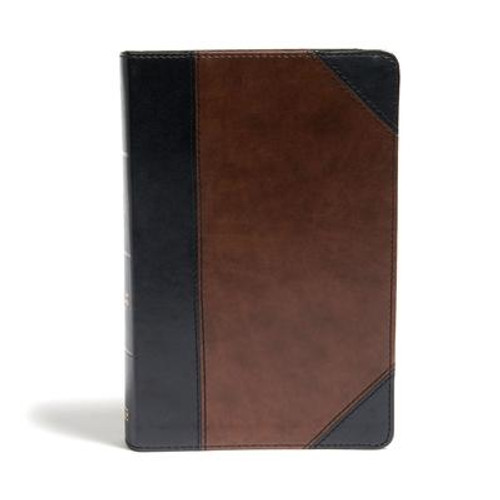 <p>The <i>CSB Large Print Personal Size Reference Bible</i> features large, easy-to-read 11.25-point type in a convenient personal trim size that is perfect for devotional reading, personal study, or use at church. The large print type also makes this Bible an ideal choice for ministry and preaching.</p><p>Features include: Smyth-sewn binding, presentation page, two-column text, end-of-paragraph cross-references, topical subheadings, words of Christ in red, 11.25-point type, concordance, and full-color maps.</p><p>The <i>CSB Large Print Personal Size Reference Bible</i> features the highly readable, highly reliable text of the Christian Standard Bible(R) (CSB). The CSB stays as literal as possible to the Bible's original meaning without sacrificing clarity, making it easier to engage with Scripture's life-transforming message and to share it with others.</p><br><br><b>Author:</b> Csb Bibles by Holman<br><b>Publisher:</b> Holman Bibles<br><b>Published:</b> 10/15/2020<br><b>Pages:</b> 1568<br><b>Binding Type:</b> Imitation Leather<br><b>Weight:</b> 1.80lbs<br><b>Size:</b> 8.80h x 5.50w x 1.50d<br><b>ISBN:</b> 9781087721859<br><b>Large Print</b>