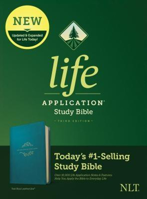<b><i>Winner of the 2020 Christian Book Award for Bible of the Year </i><br><br>Trusted &amp; Treasured by Millions of Readers over 30 years, the <i>Life Application(R) Study Bible</i> Is Today's #1-Selling Study Bible</b><br><br>Now it has been <b>thoroughly updated and expanded</b>, offering even more relevant insights for understanding and applying God's Word to everyday life in today's world.<br><br><b>Discover How You Can Apply the Bible to Your Life Today</b><br><br>With a fresh two-color interior design and meaningfully updated study notes and features, this Bible will help you understand God's Word better than ever. It answers the real-life questions that you may have and provides you practical yet powerful ways to apply the Bible to your life every day.<br><br>Study the stories and teachings of the Bible with verse-by-verse commentary. Gain wisdom from people in the Bible by exploring their accomplishments and learning from their mistakes. Survey the big picture of each book through overviews, vital statistics, outlines, and timelines, and grasp difficult concepts using in-text maps, charts, and diagrams--all to help you do life God's way, every day.<br><br><b>Features: (Enhanced, updated, and with new content added throughout)</b><ul> <li>Now more than 10,000 <i>Life Application(R)</i> notes and features</li> <li>Over 100 <i>Life Application(R)</i> profiles of key Bible people</li> <li>Introductions and overviews for each book of the Bible</li> <li>More than 500 maps &amp; charts placed for quick reference</li> <li>Dictionary/concordance</li> <li>Extensive side-column cross-reference system to facilitate deeper study</li> <li> <i>Life Application(R)</i> index to notes, charts, maps, and profiles</li> <li>Refreshed design with a second color for visual clarity</li> <li>16 pages of full-color maps</li> <li>Quality Smyth-sewn binding--durable, made for frequent use, and lays flat when open</li> <li>Presentation page</li> <li>Single-column format</li> <li>Chri