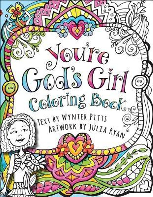 <p><b>God's Girl Is Creative and Colorful </b></p><p>Did you know that God thinks you're awesome? He sees the <i>real</i> you and wants <i>you</i> to see it too. His Word is full of great promises about who He made you to be, how unique and special you are, and how you fit into your world. </p><p></p> Now you can take God's amazing truths into your heart as you add color to these 37 cool designs using your crayons, colored pencils, watercolors, or markers. Coloring is a fun way to spend some alone time--or invite some girlfriends over and make it a party. <p></p> Once you're finished coloring your creations, you can tear them out and hang them on your wall, stick them on the fridge (just like Mom used to do when you were a little kid), or anywhere you look so you can be reminded of what God thinks about you. Better yet, you could frame them and give them away as gifts to your family and friends. <p></p><b>Get ready to color, have fun, and learn all about YOU </b><br><br><b>Author:</b> Wynter Pitts<br><b>Publisher:</b> Harvest House Publishers<br><b>Published:</b> 02/01/2017<br><b>Pages:</b> 80<br><b>Binding Type:</b> Paperback<br><b>Weight:</b> 0.44lbs<br><b>Size:</b> 8.80h x 6.80w x 0.30d<br><b>ISBN:</b> 9780736969635