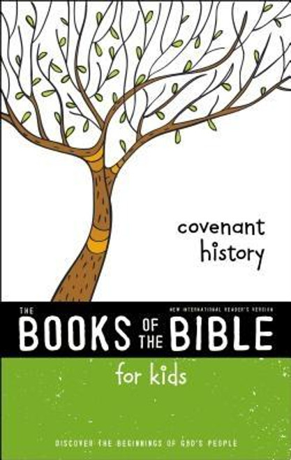 <p><em>NIrV, The Books of the Bible for Kids</em> is a 4-volume abridged Bible study that strips the Bible of its chapter and verse numbers, headings, and special formatting so that it's easier to read and accessible to all. Each volume is broken down into an 8-week reading plan that includes daily reading and questions for discussion perfect for classroom or small group use. With wide margins, shorter lines, a larger font size, and engaging illustrations, these books are designed especially for developing readers.</p><p> </p><p>In the first book of this series, <em>Covenant History</em>, readers will learn about the story of God's people from the creation to the exile of the people of Israel. This volume includes: Genesis, Exodus, Leviticus, Numbers, Deuteronomy, Joshua, Judges, Ruth, and Samuel-Kings.</p><p> </p><p>The other titles in this series include: </p><p><em>NIrV, The Books of the Bible: The Prophets: </em><em>Listen to God's Messenger's Tell about Hope and Truth</em></p><p><em>NIrV, The Books of the Bible: The Writings: </em><em>Learn from Stories, Poetry, and Songs</em></p><p><em>NIrV, The Books of the Bible: New Testament: </em><em>Read the Story of Jesus, His Church, and His Return</em></p><br><br><b>Author:</b> Zondervan<br><b>Publisher:</b> Zonderkidz<br><b>Published:</b> 11/28/2017<br><b>Pages:</b> 288<br><b>Binding Type:</b> Paperback<br><b>Weight:</b> 0.92lbs<br><b>Size:</b> 8.30h x 5.40w x 0.90d<br><b>ISBN:</b> 9780310761303