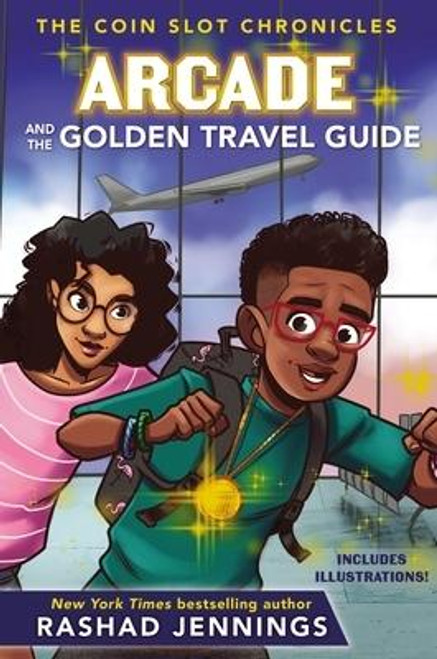 """<p><strong>Where did the Triple T Token come from? And can Arcade keep the token for himself ... or will sinister forces steal it from his grasp? <em>Finally</em>, the answers you--and Arcade--have been waiting for  </strong><strong><em>Arcade and the Golden Travel Guide </em></strong><strong>is the second book in the humorous and imaginative Coin Slot Chronicles series by <em>New York Times</em> bestselling author, former NFL running back, and <em>Dancing with the Stars</em> champion Rashad Jennings.</strong></p><p>Arcade, Zoe, and their friend, Doug, travel from New York to Virginia to stay with cousins and best friends Derek and Celeste. It's a chance for Arcade to feel """"normal"""" again after all the thrilling Triple T adventures. But nothing is normal as long as the Triple T Token is hanging around Arcade's neck. Plus, Derek claims he's stumbled upon some troubling information, and now a suspicious person is following him.</p><p>While spying on the guy Derek thinks is following him, he and Arcade discover a hidden box of old notes deep in the woods. As Arcade, Zoe, and their friends start to put the pieces together, the value of the token becomes clear, and the stakes are higher than ever.</p><p>Arcade will have to decide once and for all: Are the adventures the Triple T Token provides worth the trouble it brings?</p><p>Written and designed for reluctant readers, with shorter chapters and meaningful illustrations throughout the book. <em>Arcade and the Golden Travel Guide</em>teaches children ages 8 and up: </p><ul> <li>Problem solving skills and how to have a growth mindset</li> <li>The importance of generosity, compassion, and forgiveness</li> <li>To believe in themselves</li> </ul><p>If you enjoy <em>Arcade and the Golden Travel Guide</em>, check out the rest of the series: <em>Arcade and the Triple T Token</em>, <em>Arcade and the Fiery Metal Tester, </em> and <em>Arcade and the Dazzling Truth Detector</em>.</p><br><br><b>Author:</b> Rashad Jennings<br><b>Publ"""