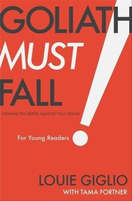 <p><strong>Louie Giglio, the director of the Passion Movement that has reached more than a million young people, shares <em>Goliath Must Fall for Young Readers</em>, a children's book about facing fears and overcoming adversity by relying on God. </strong></p><p>Our kids face more pressure and stress than ever before. Issues such as fear, jealousy, loneliness, and anxiety seem like giants standing in the way of the joy-filled childhood and adolescence we want them to have. In <em>Goliath Must Fall for Young Readers</em>, <em> </em>pastor Louie Giglio shows kids that only God can help them defeat those giants--and He will.</p><p>This hardcover book: </p><ul> <li>Is adapted for middle grade readers, ages 8 to 12, from the national bestseller <em>Goliath Must Fall, </em>which has sold over 200,000 copies</li> <li>Has practical tools and thought-provoking activities to help kids learn strategies to surrender their fears, overcome bad habits, and let go of the comforts this world tells them they have to have</li> <li>Is a great purchase for kids who are struggling with stress, anxiety, technology addiction, or other troubles and for fans of Louie's other children's books, <em>Indescribable </em>and <em>How Great Is Our God</em> </li> </ul><p>While addressing the struggles kids face today with temptation, social media comparisons, and anxiety, Louie Giglio reveals a surprising twist in the David and Goliath story that might just change everything about the way we see Jesus and how to conquer the giants in our lives.</p><br><br><b>Author:</b> Louie Giglio<br><b>Publisher:</b> Thomas Nelson<br><b>Published:</b> 10/27/2020<br><b>Pages:</b> 208<br><b>Binding Type:</b> Hardcover<br><b>Weight:</b> 0.65lbs<br><b>Size:</b> 8.40h x 5.50w x 0.80d<br><b>ISBN:</b> 9781400223633