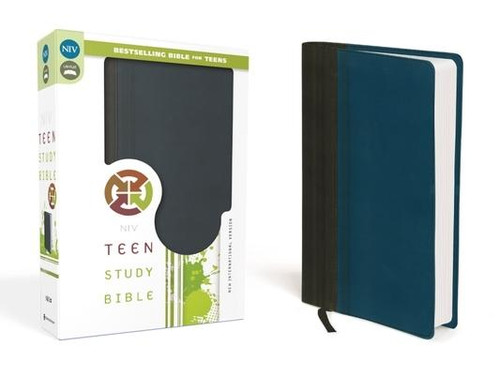 """<p>This Bible keeps up with you, to help you keep up with God As an on-the-go teen, you're moving fast. God is moving faster The <em>NIV Teen Study Bible</em> will help you keep in step with all he has done, is doing, and will do in the world--and in your life. This bestselling Bible will also help you discover the eternal truths of God's Word and apply them to the issues you face today. Features include: </p><ul> <li> <strong>""""We Believe""""</strong>--Unpacks the Apostles' Creed to reveal the biblical foundation of faith</li> <li> <strong>""""Panorama""""</strong>--Keeps the big picture of each book of the Bible in view</li> <li> <strong>Topical indexes</strong>--Help with in-depth Bible study</li> <li> <strong>Book introductions</strong>--Provide an overview for each book of the Bible</li> <li> <strong>Bible </strong>Promises--Highlighted Bible verses worth memorizing</li> <li> <strong>Q and As</strong>--Test Bible knowledge</li> <li> <strong>4 full-color pages</strong>--Includes a presentation page and information about the Apostles' Creed</li> <li><strong>8-page, color map section</strong></li> <li><strong>Printed page edges </strong></li> <li> <strong>Biblical advice</strong> about friends, family, school, and other issues</li> <li> <strong>Easy-to-read</strong> font size</li> <li> <strong>Complete text</strong> of the New International Version (NIV) of the Bible.</li> </ul><p>With over 3 million copies sold, the Teen Study Bible continues to be a teen's top resource for discovering the foundational truths of the Bible.</p><br><br><b>Bible Version:</b> New International<br><b>Author:</b> Lawrence O. Richards, Zondervan<br><b>Publisher:</b> Zondervan<br><b>Published:</b> 06/24/2014<br><b>Pages:</b> 1614<br><b>Weight:</b> 2.46lbs<br><b>Size:</b> 9.30h x 6.20w x 2.10d<br><b>ISBN:</b> 9780310745181<br><b>Binding Material:</b> Leather<br><b>Bible Portion:</b> Complete Without Apocrypha"""