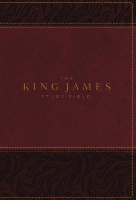 <p>Standing apart from all other KJV study Bibles on the market, <strong><em>the King James Study Bible, Full Color Edition</em></strong> is the only Bible featuring extensive commentary, doctrinal notes, archaeological insights, and time-tested study aids developed exclusively for the King James Version. Now available with stunning full-color designs, Holy Land images, classic works of art, charts, and maps, <em>the King James Study Bible, Full Color Edition</em> guides you through the vivid beauty and authority of God's Word as you grow in your biblical knowledge.</p><p>For over a quarter of a century, Thomas Nelson has earned the trust of millions with the best-selling King James Study Bible, offering the standard of conservative KJV scholarship. Our tradition and commitment to KJV study continues with the release of <em>the King James Study Bible, Full Color Edition</em>.</p><p><strong>Features include: </strong></p><ul> <li>Beautiful full-color throughout</li> <li>Easy-to-read 10-pt type large print</li> <li>5,700 authoritative and study notes</li> <li>Center-column references with translation notes</li> <li>Hundreds of color maps and charts</li> <li>Over 100 archaeological notes</li> <li>Over 100 personality profiles</li> <li>Over 200 notes on Christian doctrines</li> <li>Easy-to-navigate topical indexes</li> <li>Book introductions and outlines</li> <li>Word-study concordance</li> <li>Time-honored KJV Bible text</li> </ul><br><br><b>Author:</b> Thomas Nelson<br><b>Publisher:</b> Thomas Nelson<br><b>Published:</b> 08/08/2017<br><b>Pages:</b> 2368<br><b>Binding Type:</b> Imitation Leather<br><b>Weight:</b> 4.20lbs<br><b>Size:</b> 10.10h x 7.40w x 2.40d<br><b>ISBN:</b> 9780718079871<br><b>Large Print</b>