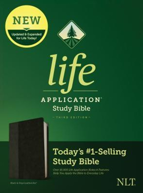 <b><i>Winner of the 2020 Christian Book Award for Bible of the Year </i><br><br>Trusted &amp; Treasured by Millions of Readers over 30 years, the <i>Life Application(R) Study Bible</i> Is Today's #1-Selling Study Bible</b><br><br>Now it has been <b>thoroughly updated and expanded</b>, offering even more relevant insights for understanding and applying God's Word to everyday life in today's world.<br><br><b>Discover How You Can Apply the Bible to Your Life Today</b><br><br>With a fresh two-color interior design and meaningfully updated study notes and features, this Bible will help you understand God's Word better than ever. It answers the real-life questions that you may have and provides you practical yet powerful ways to apply the Bible to your life every day.<br><br>Study the stories and teachings of the Bible with verse-by-verse commentary. Gain wisdom from people in the Bible by exploring their accomplishments and learning from their mistakes. Survey the big picture of each book through overviews, vital statistics, outlines, and timelines, and grasp difficult concepts using in-text maps, charts, and diagrams--all to help you do life God's way, every day.<br><br><b>Features: (Enhanced, updated, and with new content added throughout)</b> <ul> <li>Now more than 10,000 <i>Life Application(R)</i> notes and features</li> <li>Over 100 <i>Life Application(R)</i> profiles of key Bible people</li> <li>Introductions and overviews for each book of the Bible</li> <li>More than 500 maps &amp; charts placed for quick reference</li> <li>Dictionary/concordance</li> <li>Extensive side-column cross-reference system to facilitate deeper study</li> <li> <i>Life Application(R)</i> index to notes, charts, maps, and profiles</li> <li>Refreshed design with a second color for visual clarity</li> <li>16 pages of full-color maps</li> <li>Quality Smyth-sewn binding--durable, made for frequent use, and lays flat when open</li> <li>Presentation page</li> <li>Single-column format</li> <li>Chr