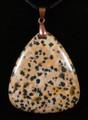 Beautiful Dalmation Jasper Pendant