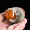Beautiful Polychrome Jasper Palm Stone - view 3