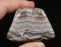 Missouri Lace Agate Palm Stone, 69.7g