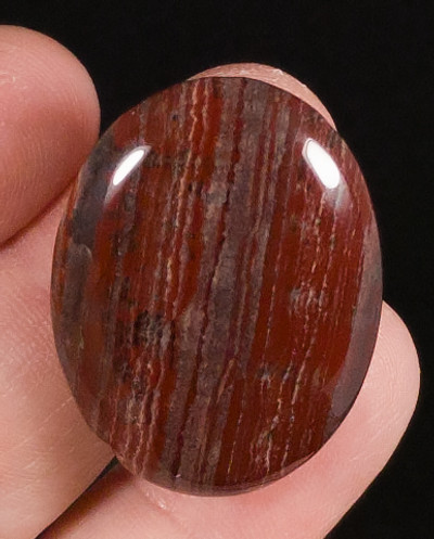 Terrific Snakeskin Jasper Cabochon - inverted