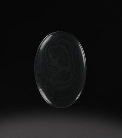 Intricate Psilomelane Cabochon, 29.5x20.5x4mm, 21.9 cts