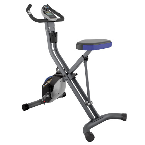 FITNESS REALITY U2500 'Super Max' 400lb Weight Capacity Foldable Magnetic Upright Bike