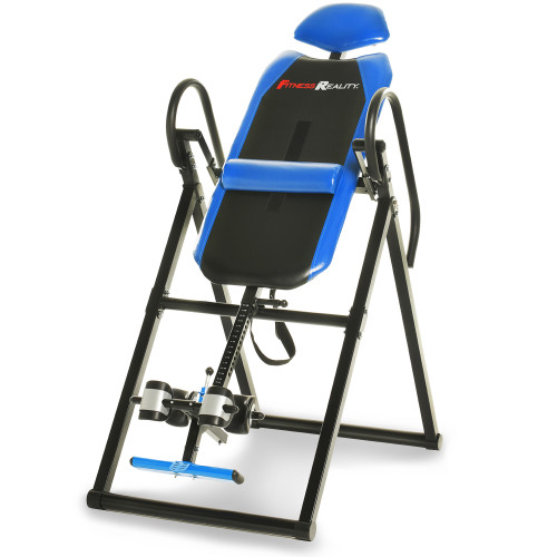 Fitness Reality 690XL Triple Safety Locking Inversion Table with Lumbar Pillow