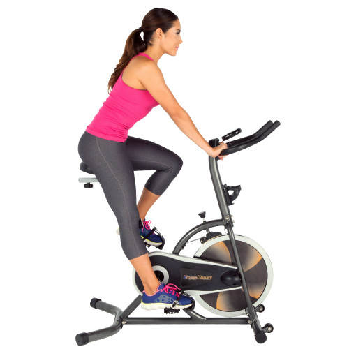 FITNESS REALITY S275 Exercise Bike/ Indoor Training Cycle with 4 way Adjustable Seat