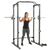 Fitness Reality XLT Power Cage with 800lbs Weight Capacity, Pull up Bar and Landmine