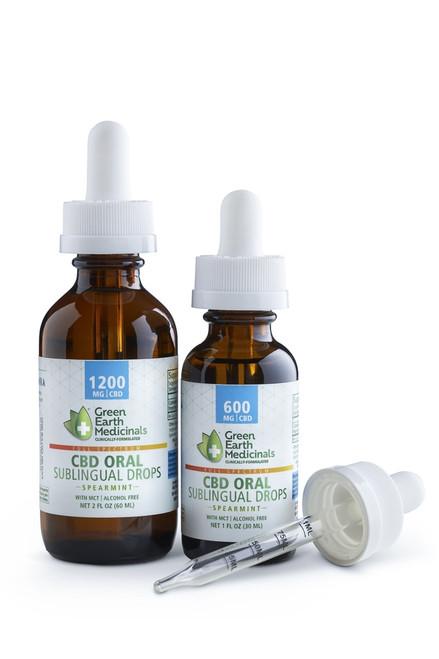 Green Earth Medicinals CBD ORAL   Sublingual Drops