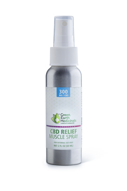 Green Earth Medicinals CBD RELIEF | Muscle Spray