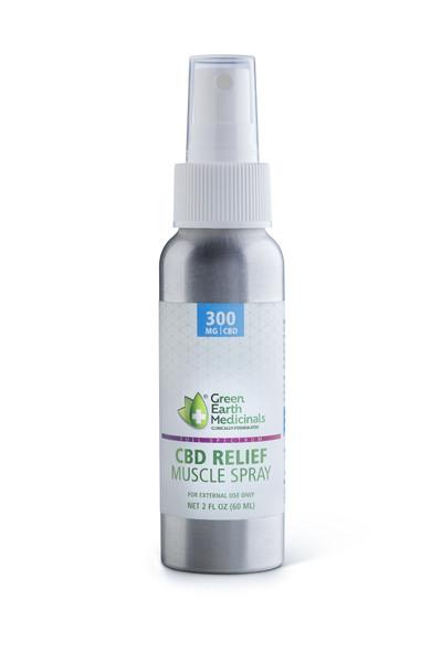 Green Earth Medicinals CBD RELIEF | Muscle Spray