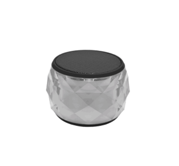 AGT MULTI-COLOR WIRELESS PORTABLE BLUETOOTH SPEAKER WITH NIGHT LIGHTS