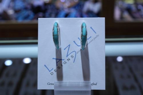Lazuli Turquoise hoops SS79554