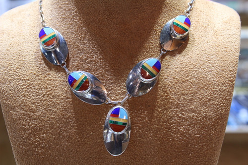 Sterling silver multi-color