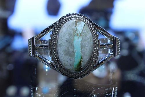 Sterling Silver Boulder Turquoise Bracelet SS15716