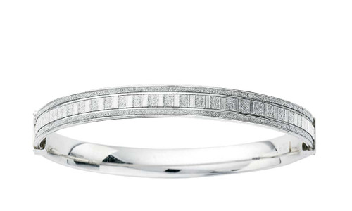 Sterling Silver Bangle SS15736
