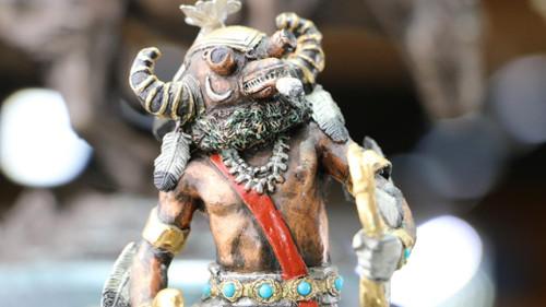 Bronze Legends Ahote Statue SS15796