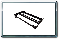 Loaded 12 Stanchion Flat Storage Cart