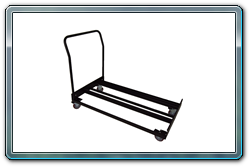 15 Stanchion Flat Storage Cart